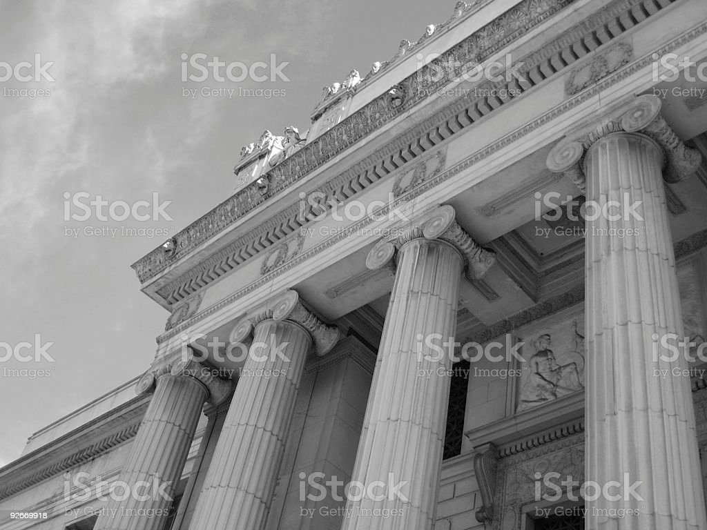 Scottish Rite Temple royalty-free stock photo