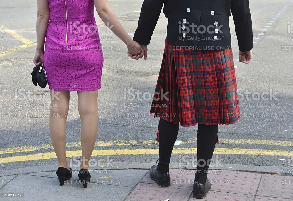 Scottish scene stock photo