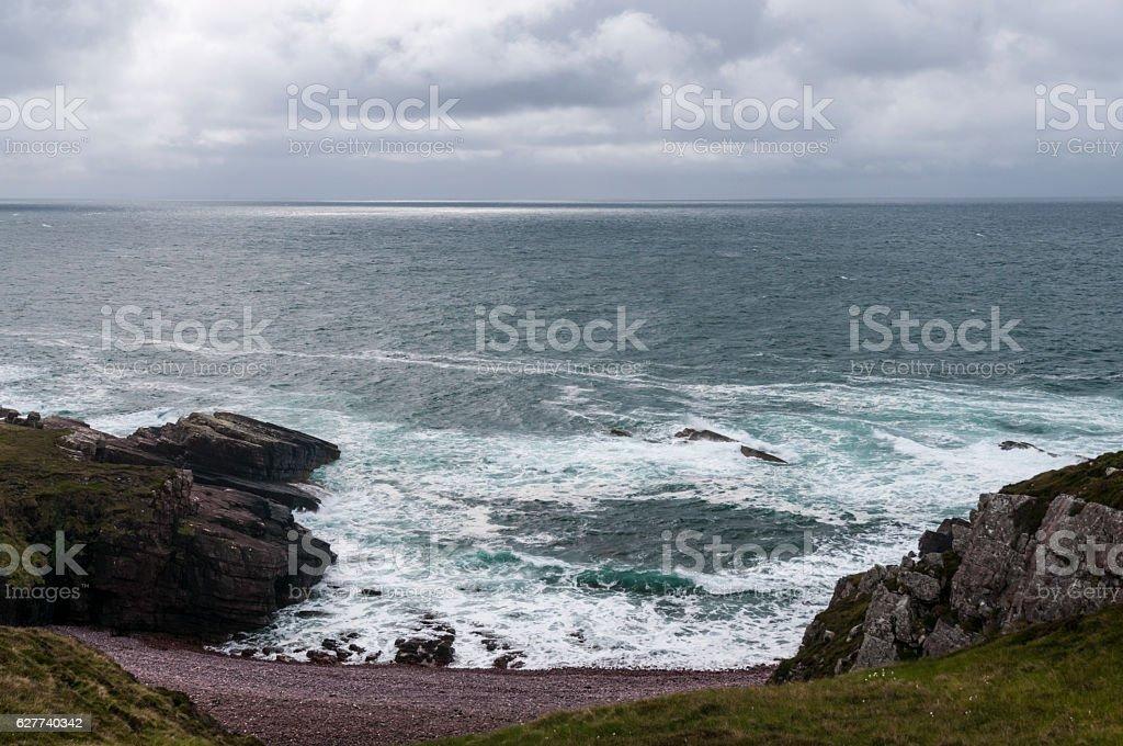 Scottish Seascape stock photo
