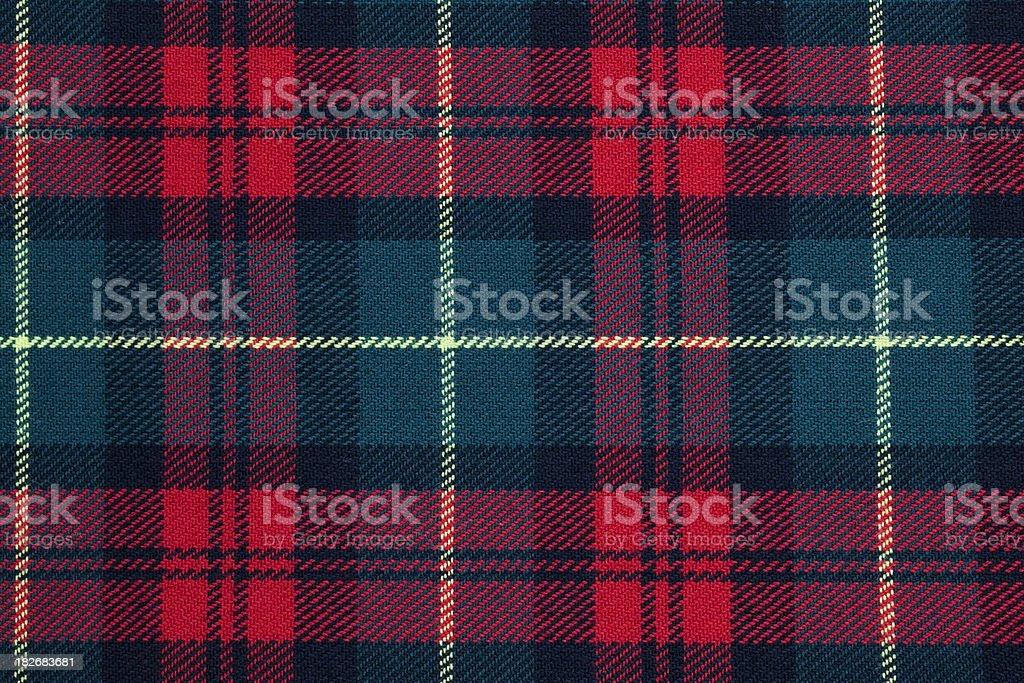 Scottish Tarten royalty-free stock photo