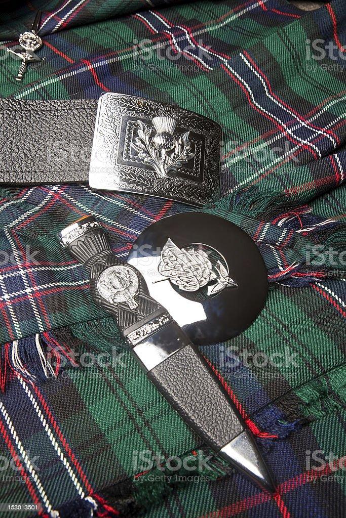 Scottish thistle symbol stock photo