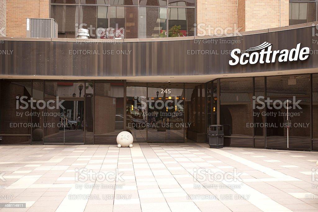 Scottrade stock photo