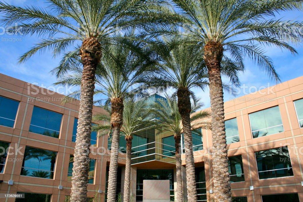 Scottsdale Arizona Business Building royalty-free stock photo