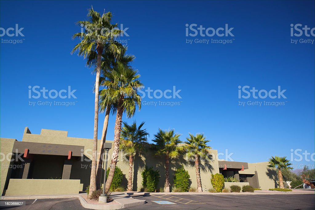 Scottsdale Business Building royalty-free stock photo