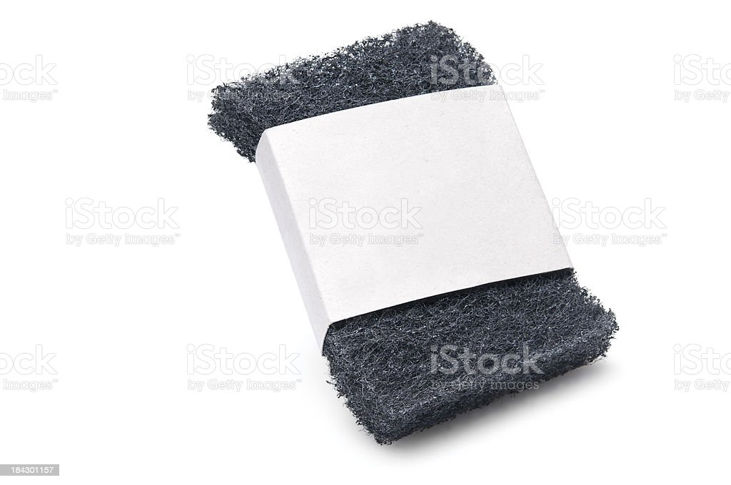 scouring pad stock photo
