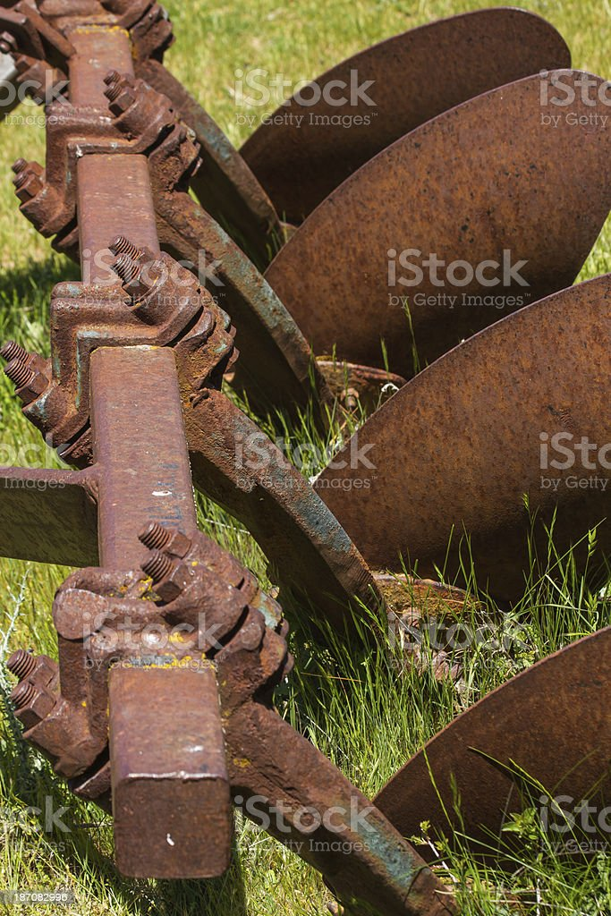 Scrap Agricultural Tool - Chatarra Herramienta Agricola royalty-free stock photo