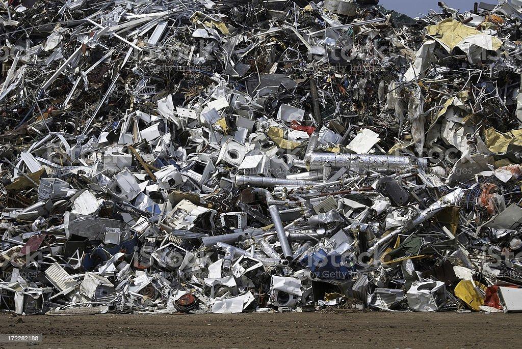 Scrap dump royalty-free stock photo