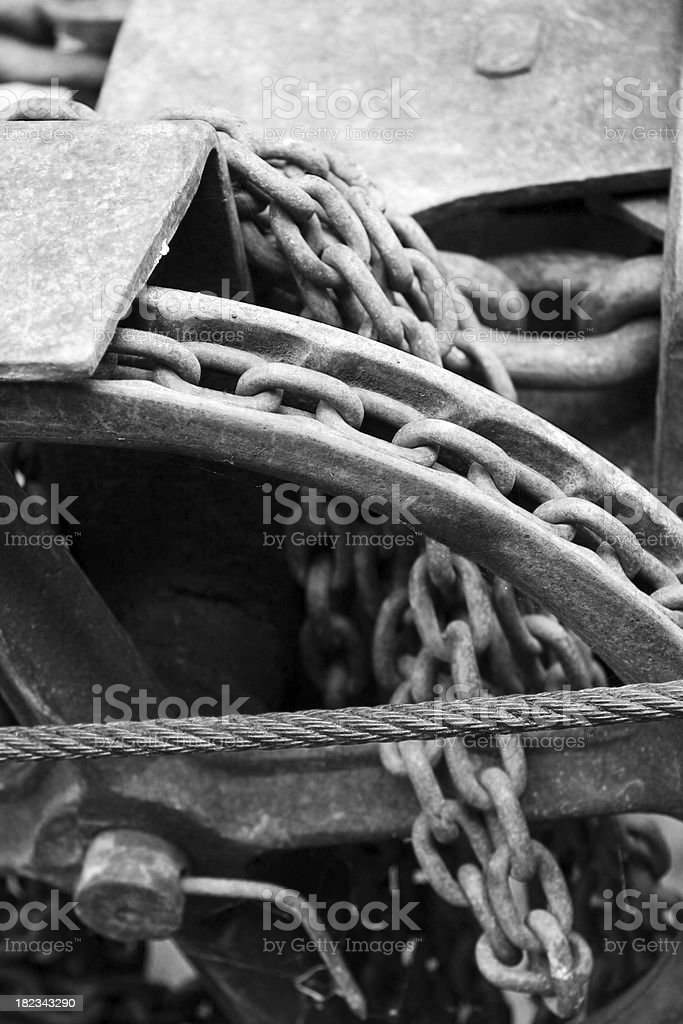 Scrap iron royalty-free stock photo
