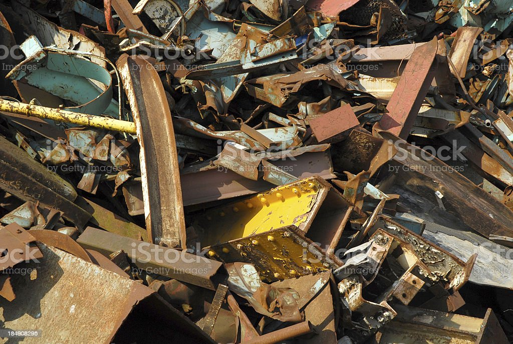Scrap Iron (3) royalty-free stock photo