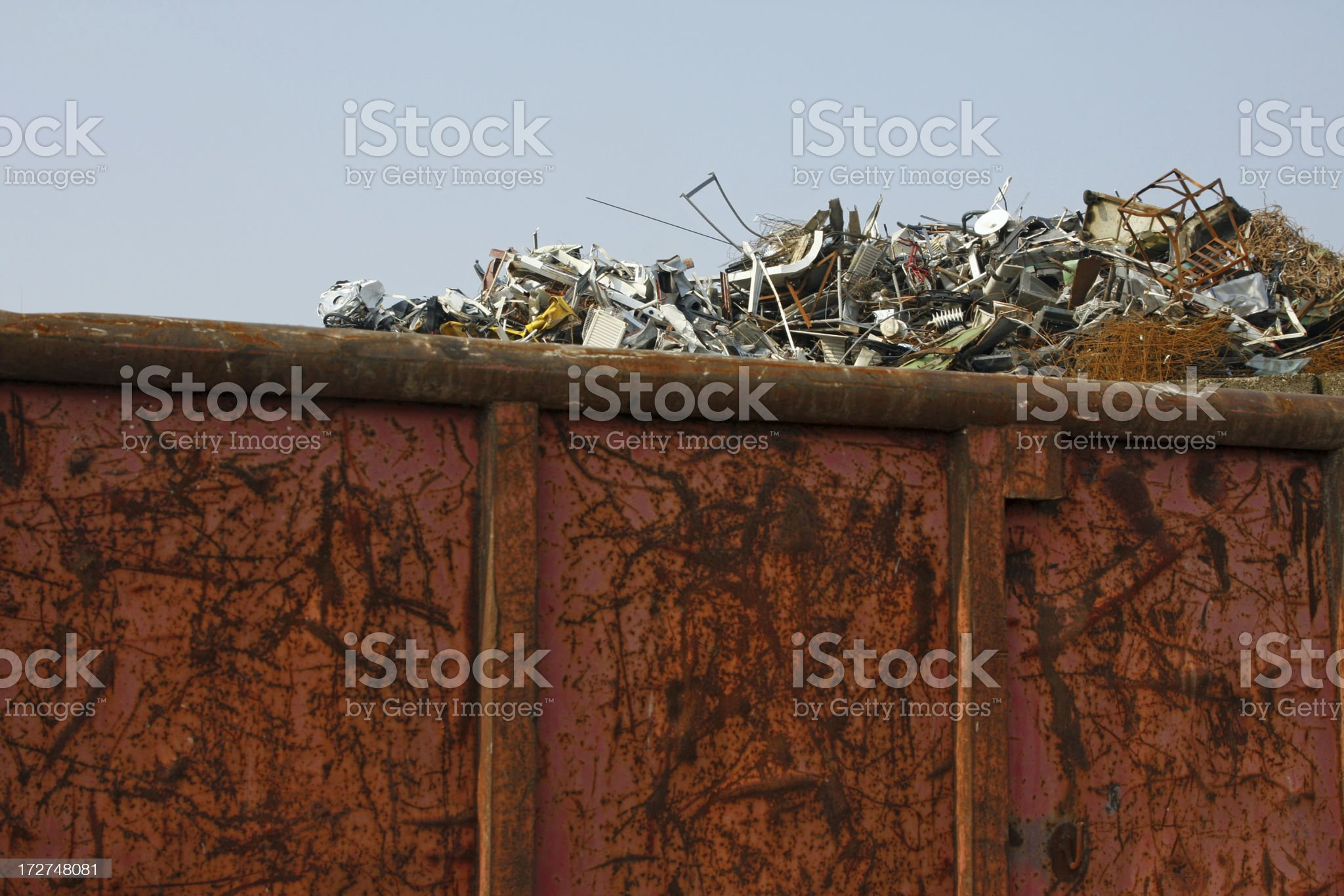Scrap metal and iron # 19 royalty-free stock photo