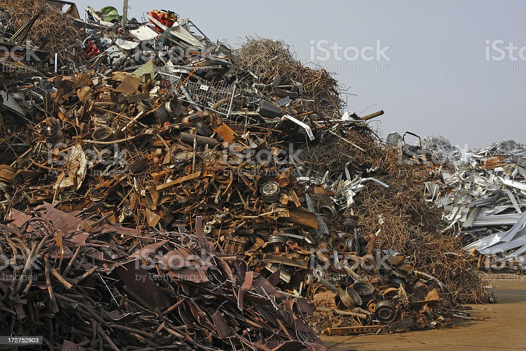 Scrap metal and iron # 17 royalty-free stock photo