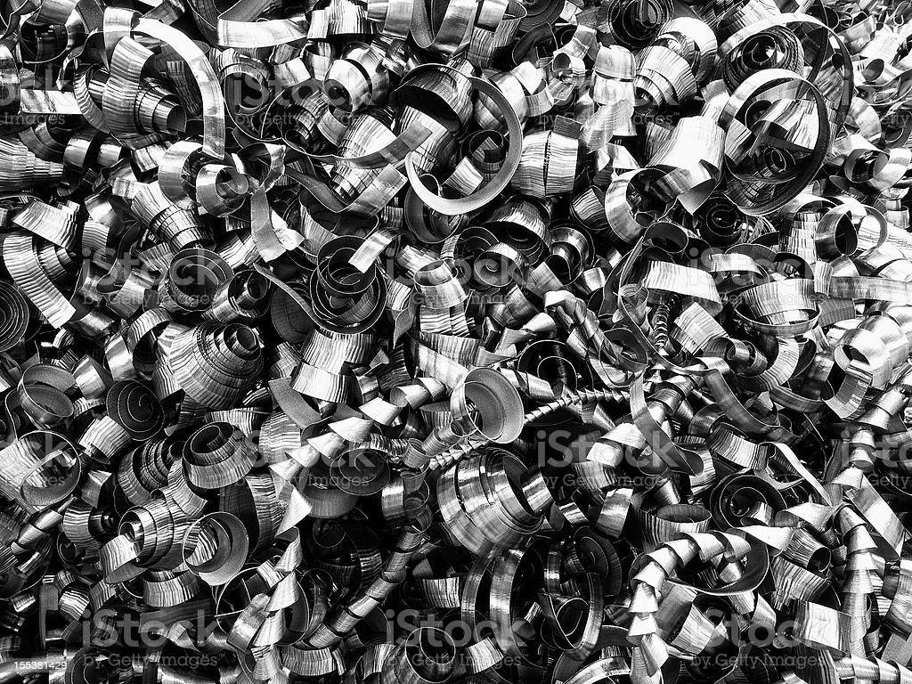 Scrap Metal. Color Image stock photo