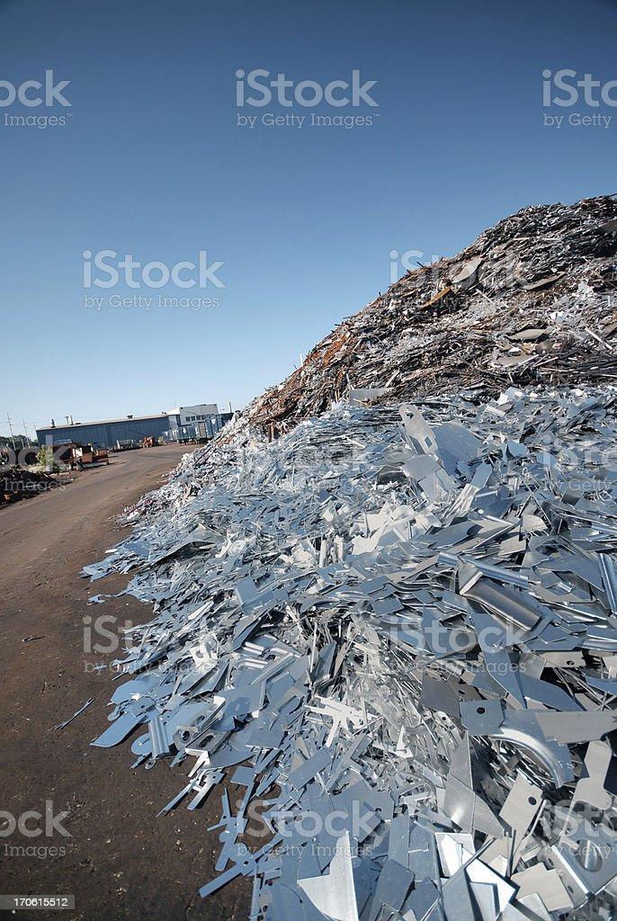 Scrap Mountain royalty-free stock photo