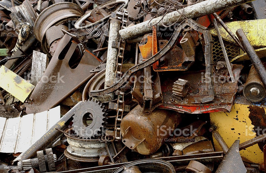 Ferraille royalty-free stock photo