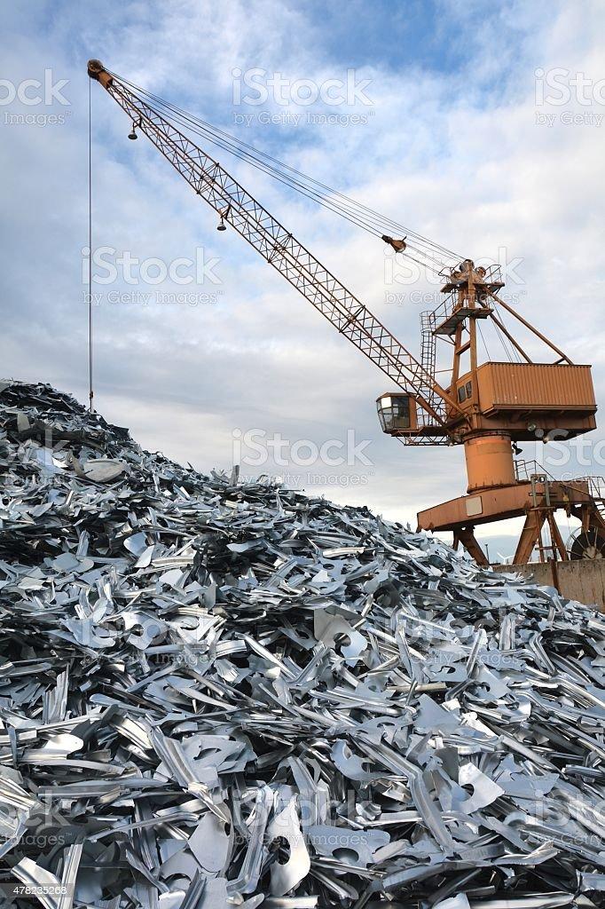 scrap stock photo