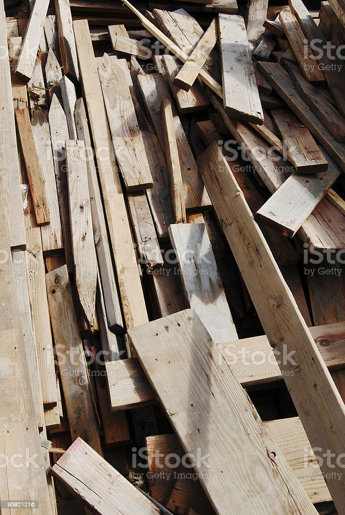 Scrap pile 2 stock photo