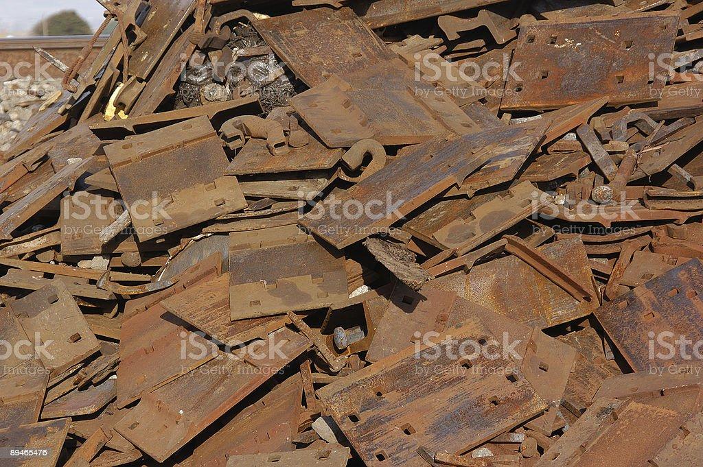 Scrap Pile royalty-free stock photo