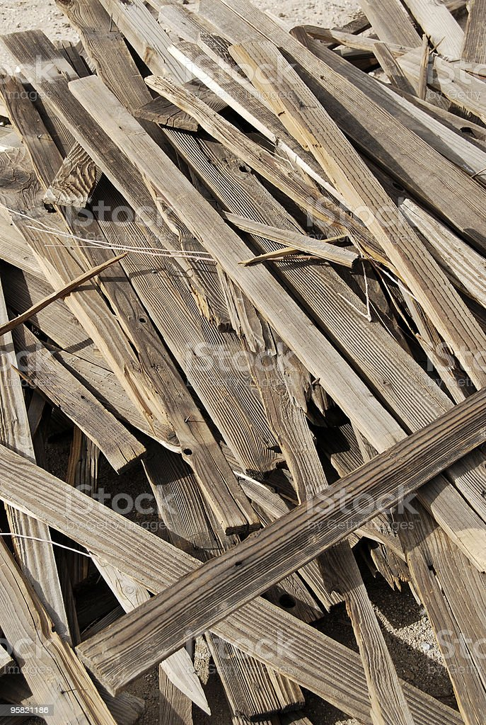 Scrap pile stock photo