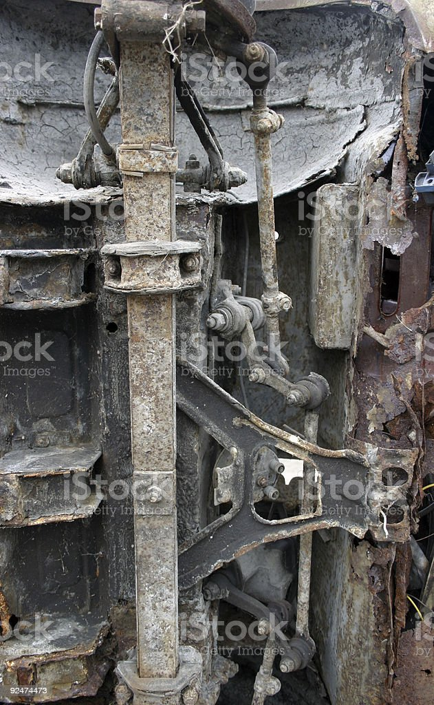 Scrap still life royalty-free stock photo