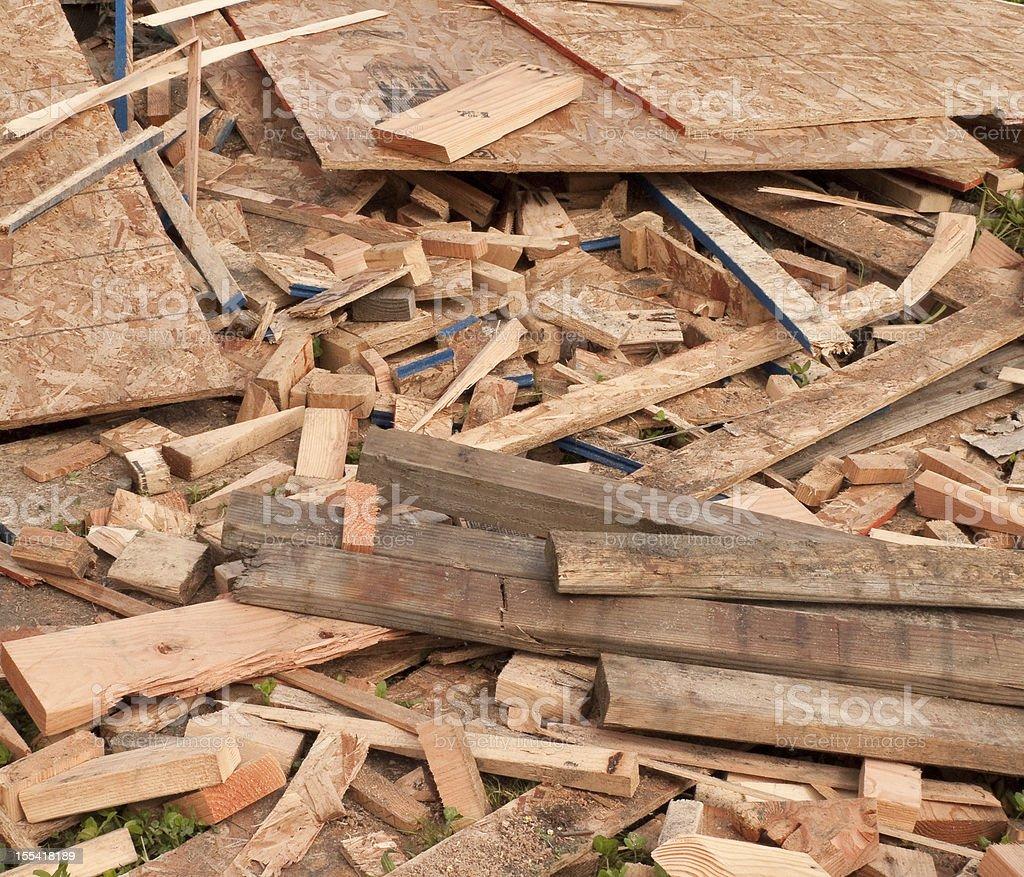 Scrap Wood royalty-free stock photo