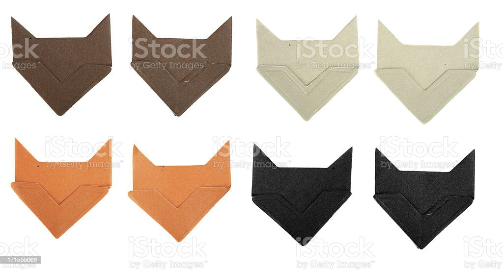 Scrapbook Corner Tabs for Photographs royalty-free stock photo