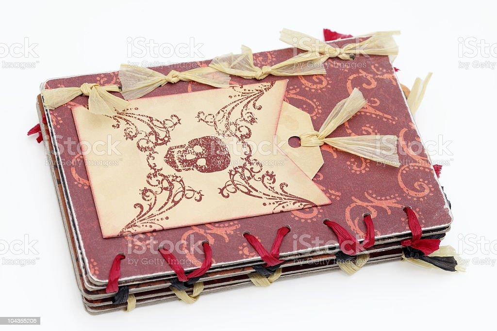 Scrapbook royalty-free stock photo
