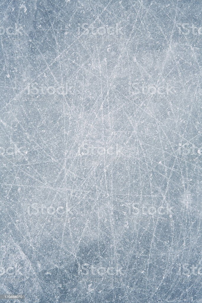 Scratched Ice background stock photo