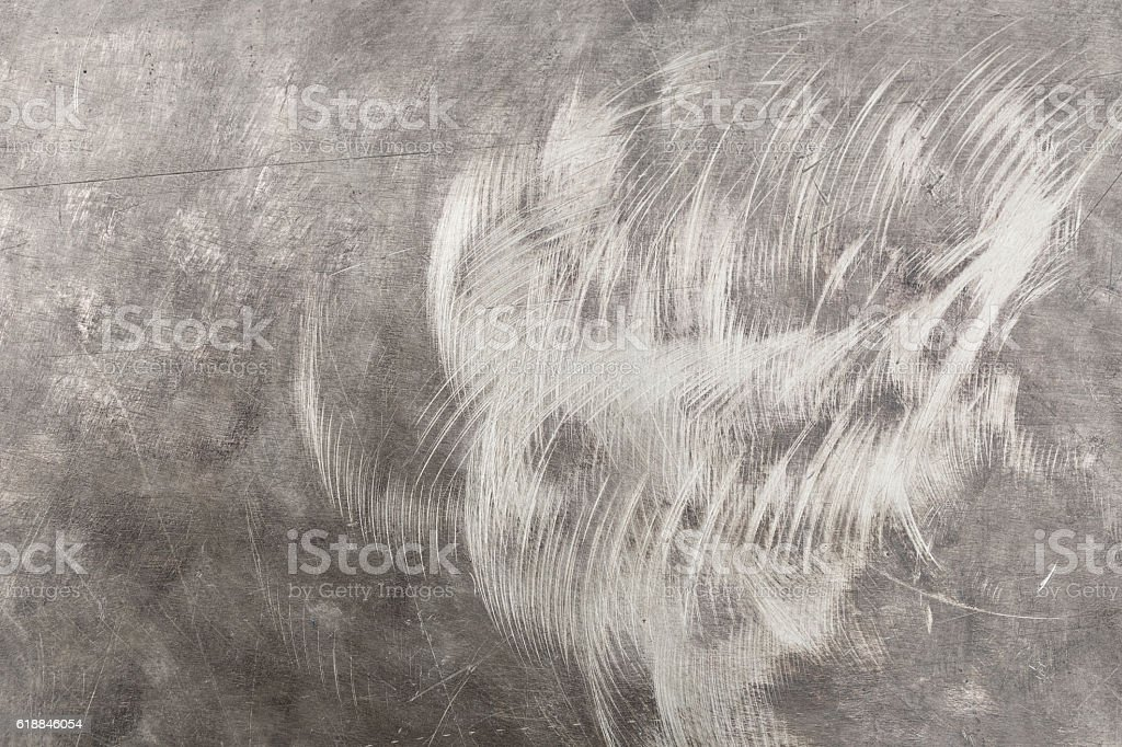 Scratched metal abstract stock photo