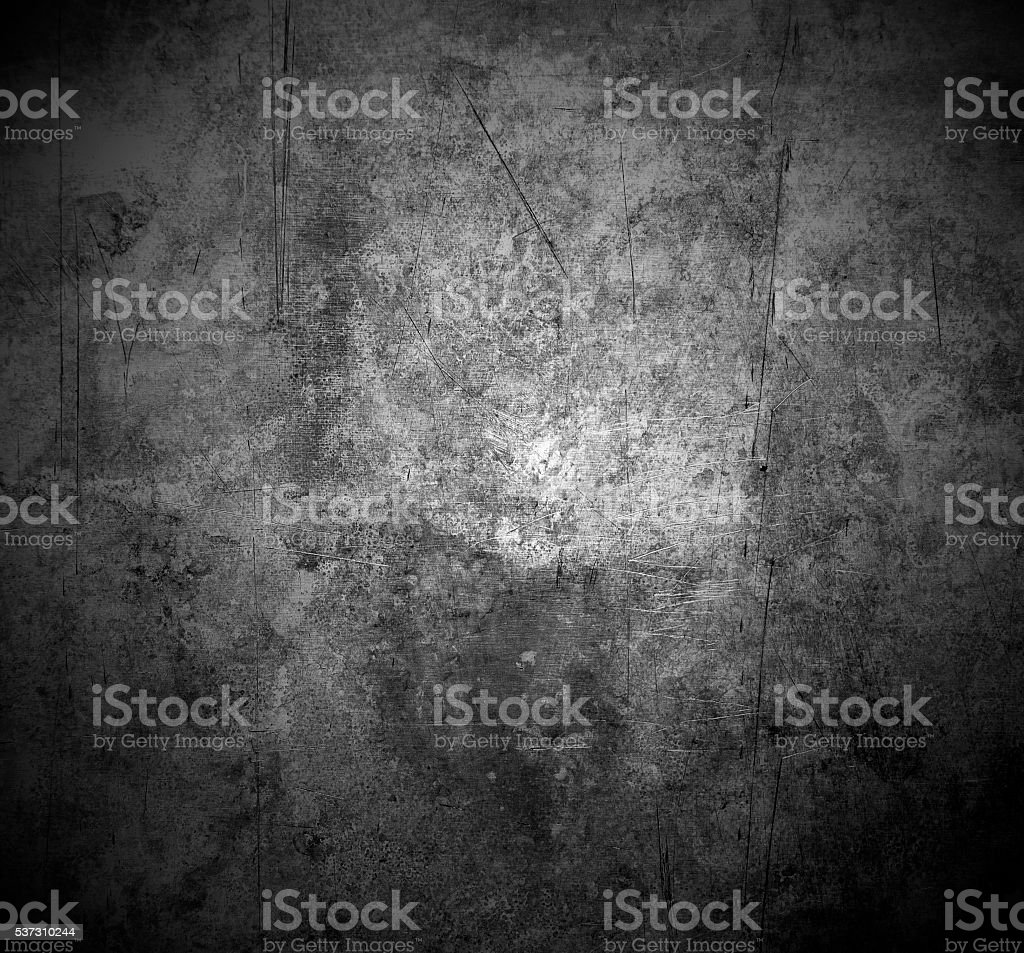 scratched metal stock photo