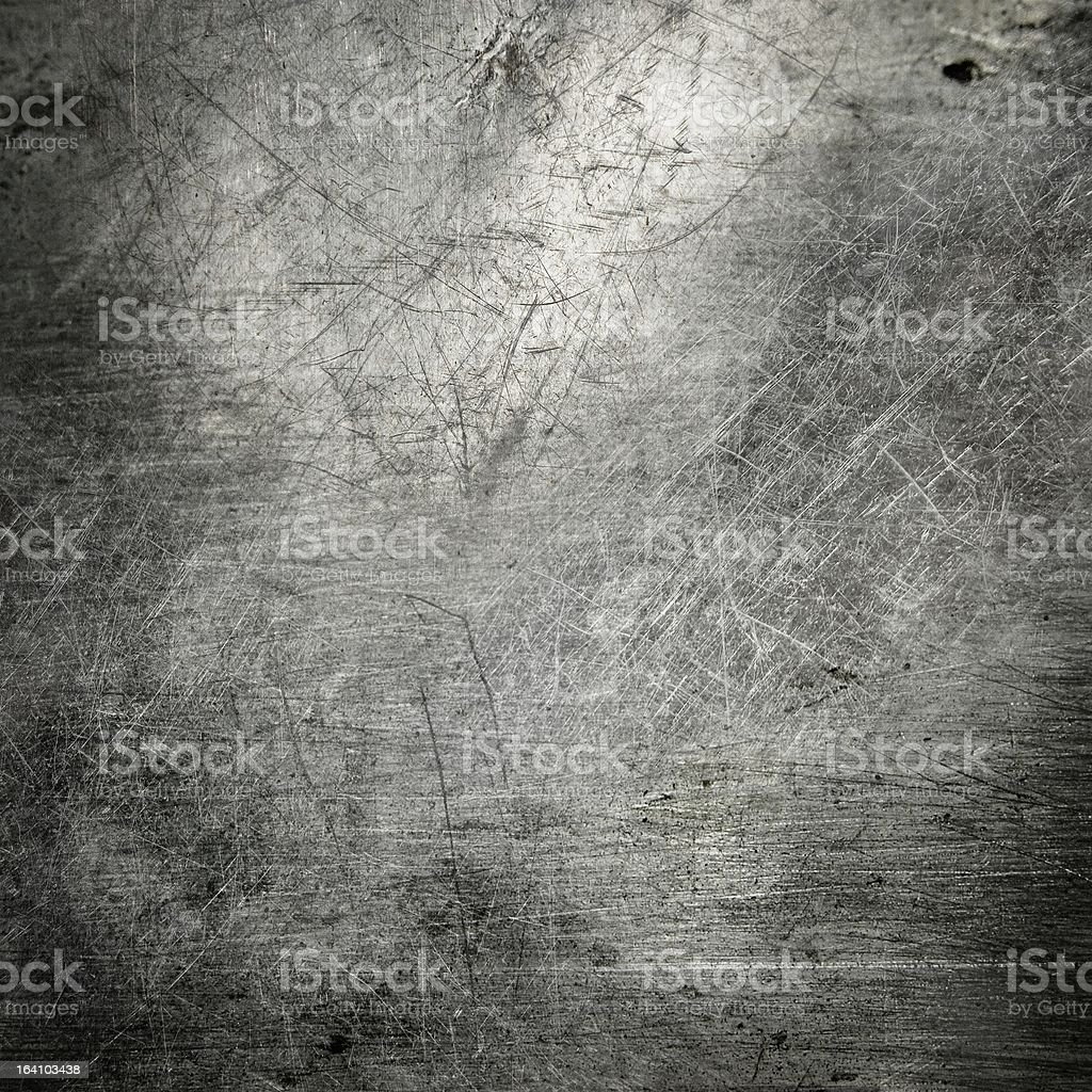 scratched metal texture stock photo