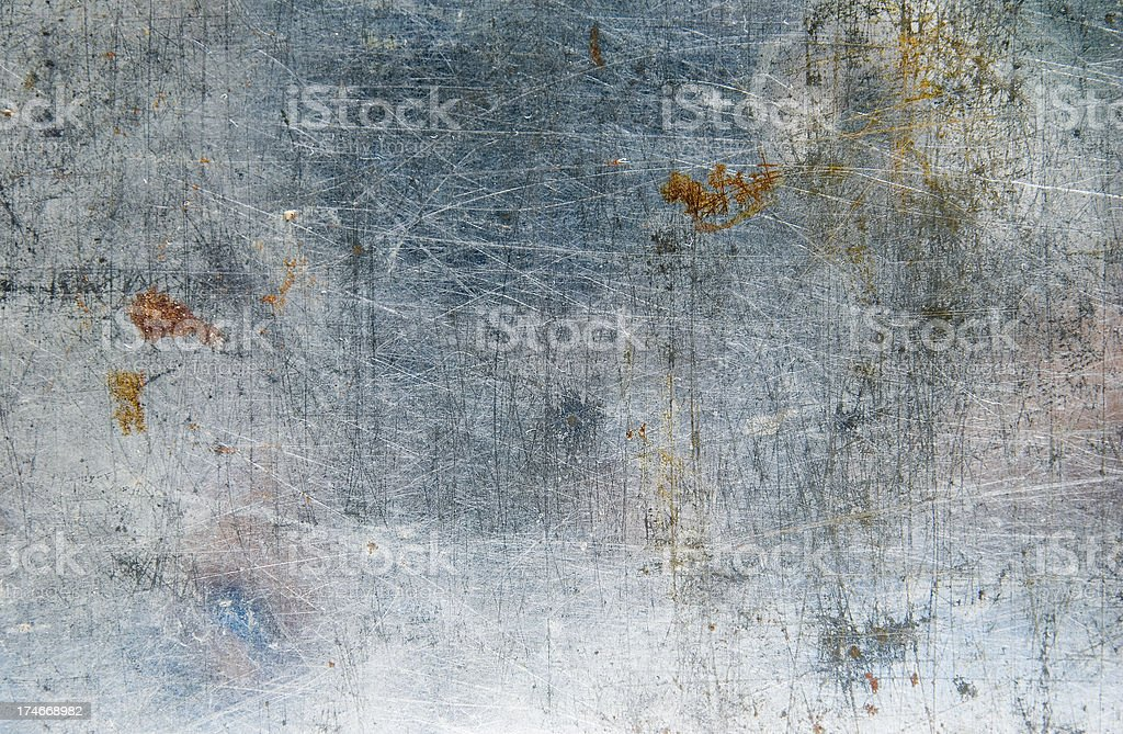 Scratched royalty-free stock photo
