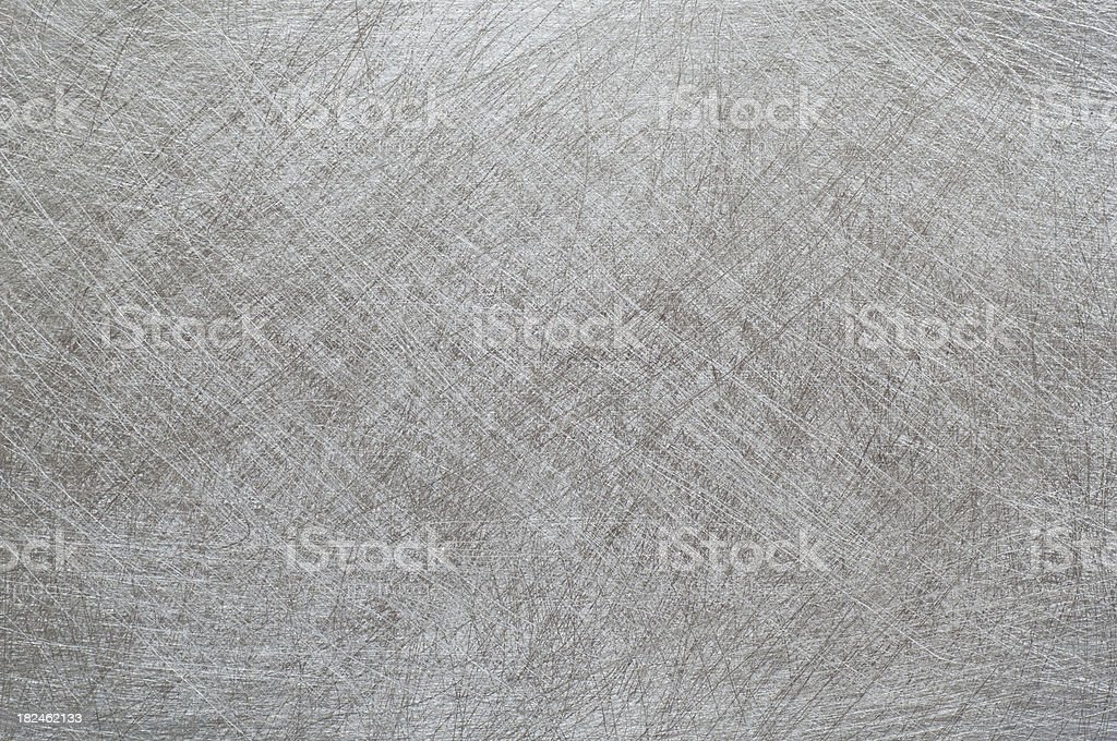 Scratched stainless steel surface royalty-free stock photo
