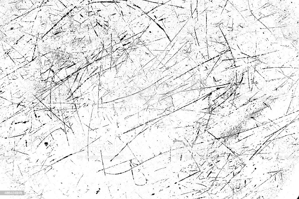 Scratched texture stock photo