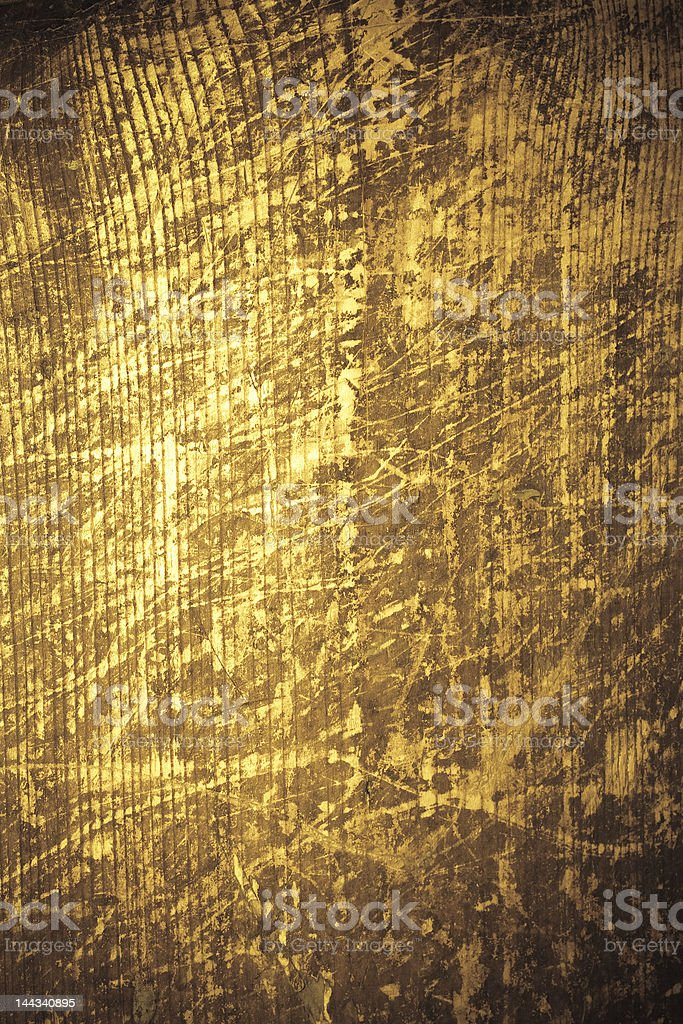 Scratched wood royalty-free stock photo