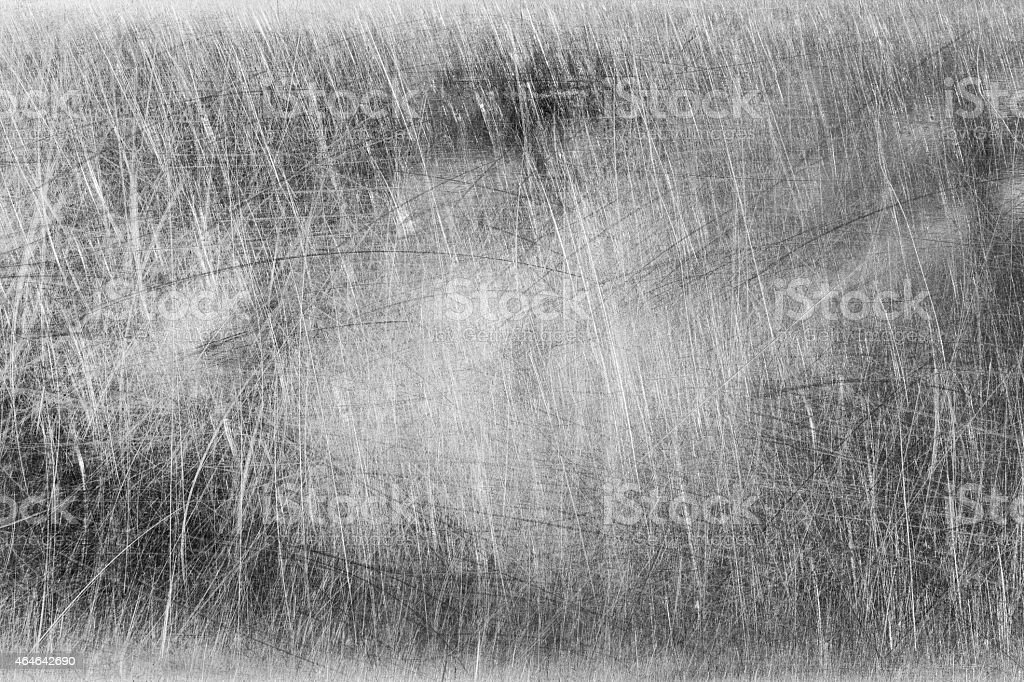 Scratches on stainless steel background stock photo