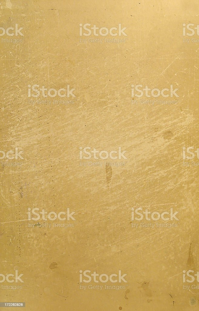scratchy, stained, weathered old paper royalty-free stock photo