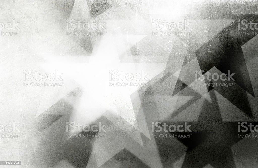 scratchy star background stock photo