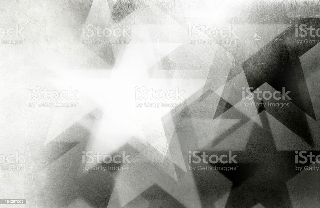 scratchy star background stock photo