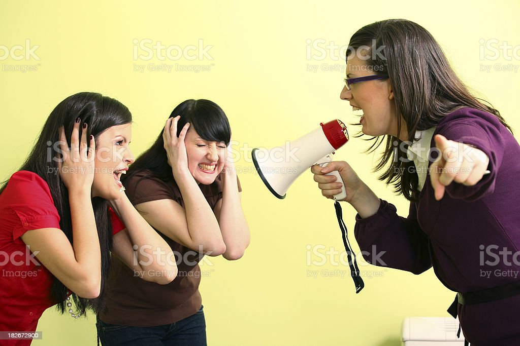 Scream!!! royalty-free stock photo