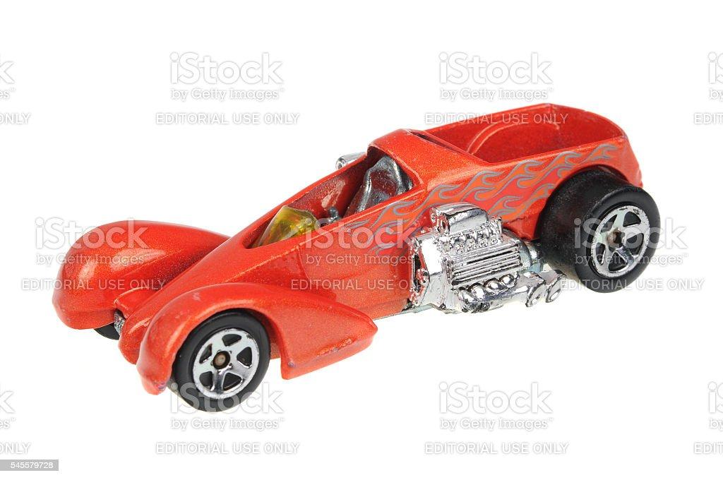 1999 Screamin Hauler Hot Wheels Diecast Toy Car stock photo