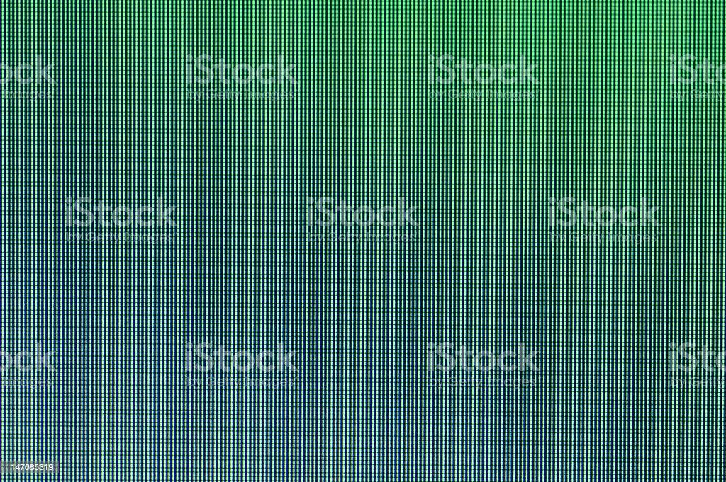 LCD Screen close-up royalty-free stock photo