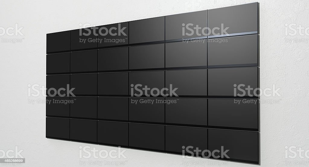 LCD Screen Collection royalty-free stock photo