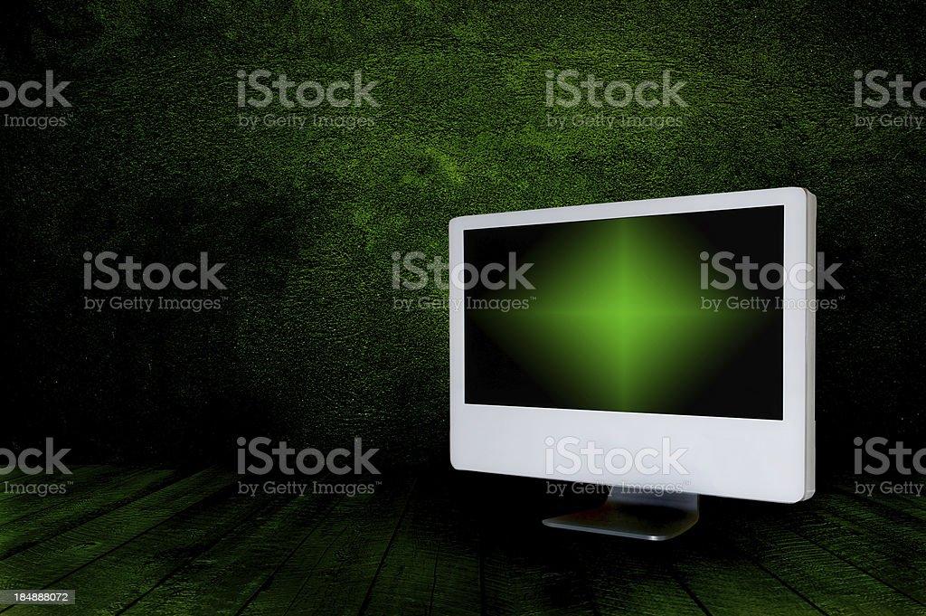 TV screen royalty-free stock photo