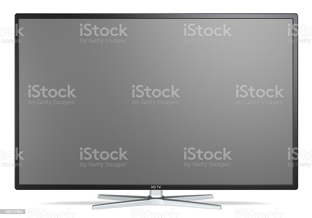 TV Screen. stock photo