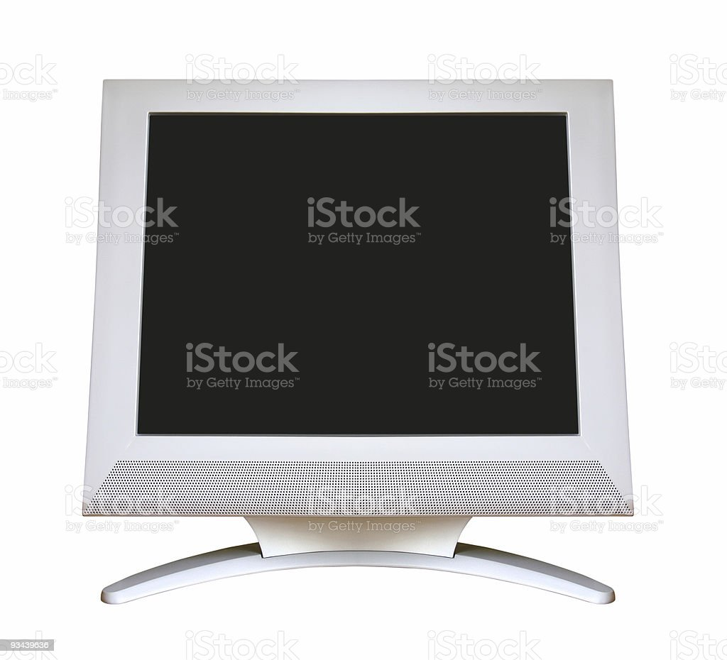 LCD Screen stock photo