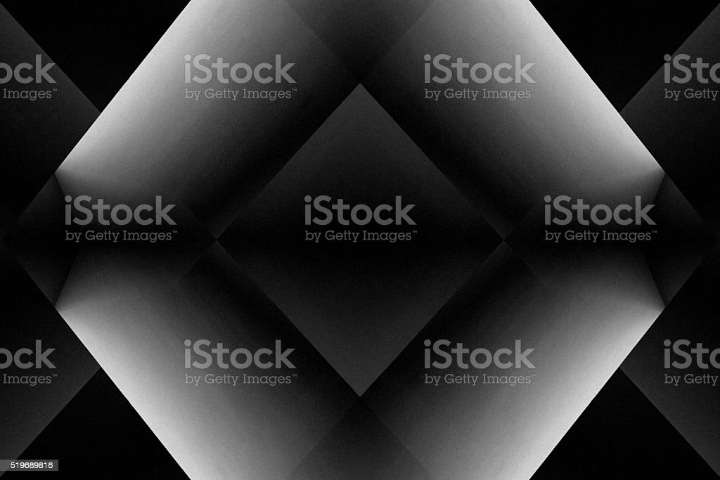 Screens diffusing light at their edges. Chiaroscuro. Light and shadows. stock photo