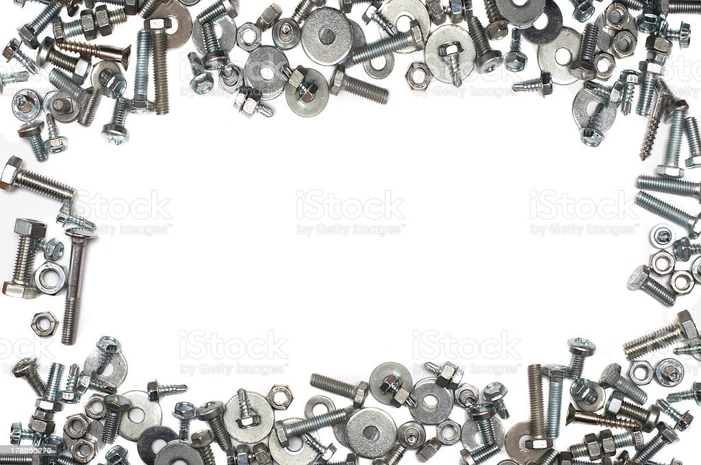 screw and bolts royalty-free stock photo