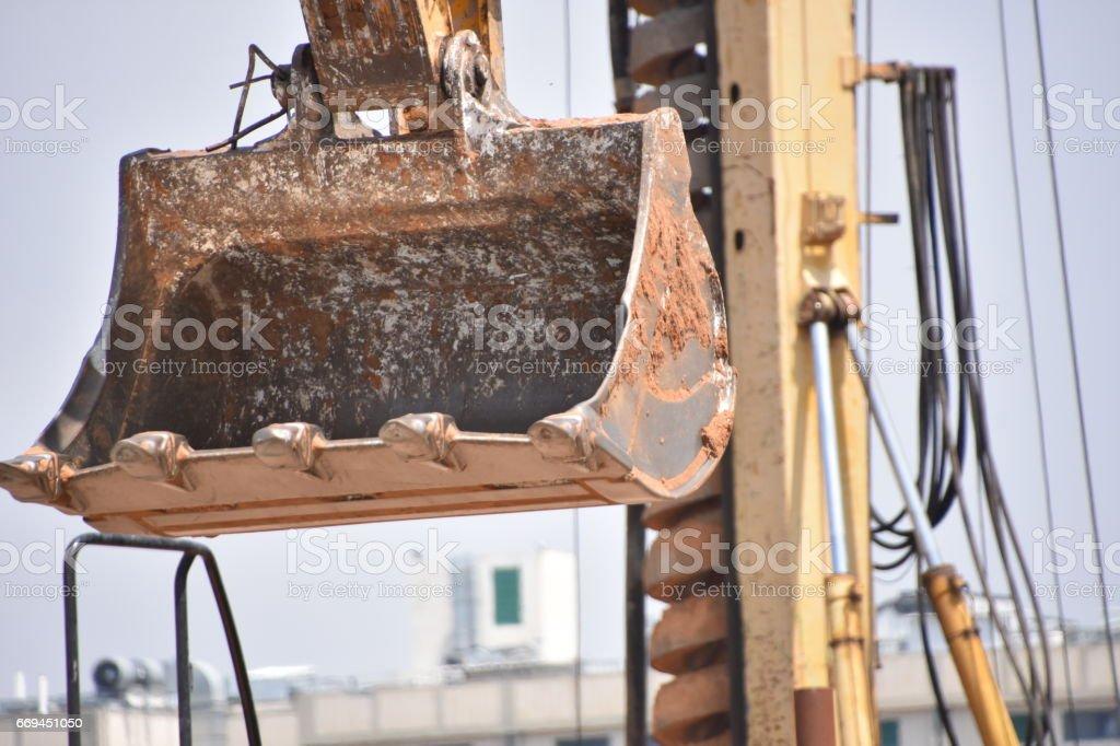 Screw Drilling machine stock photo