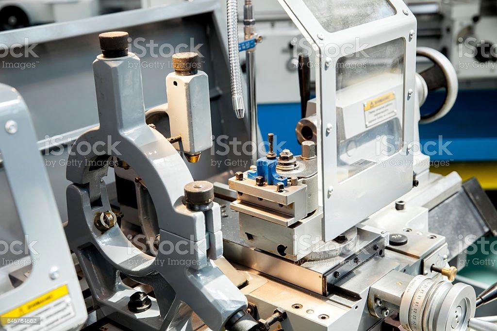 Screw-cutting lathe stock photo