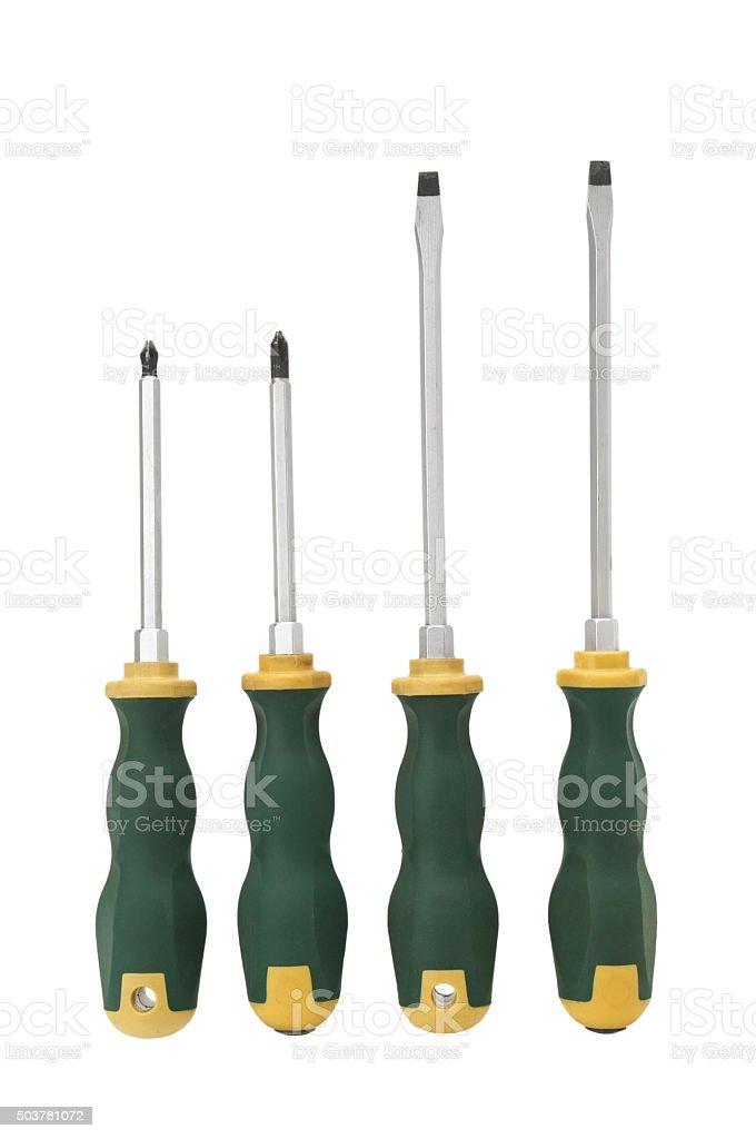 screwdrivers stock photo